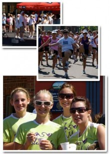 Images from the run