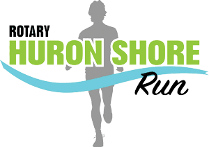 Logo - Rotary Huron Shore Run